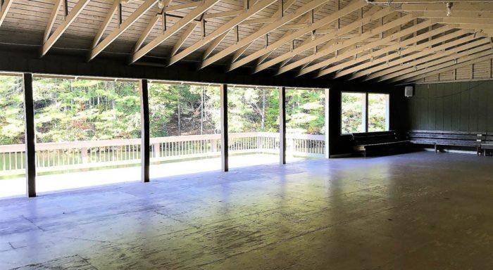 Interior of Fox Pavilion