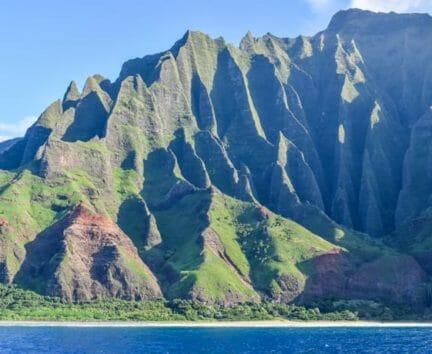 Mountains on the Hawaii Expedition
