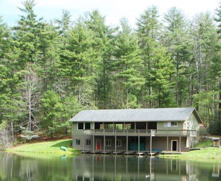 Kanuga facility by the lake